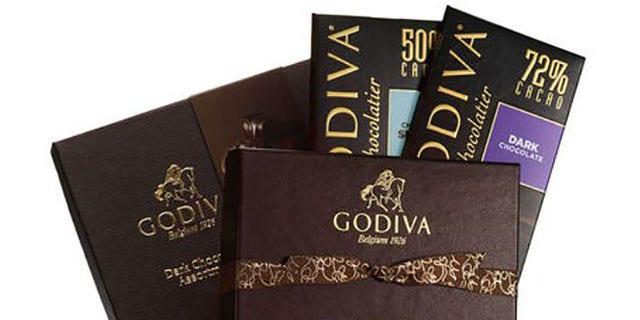 """Godiva labeling often reads """"Belgium 1926"""""""
