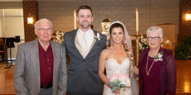When bride Brenna Kleman was planning to marry Brock Kendall in Wichita, Kan., in April, she knew she needed her 83-year-old grandmother to be involved.