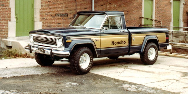The Honcho was a trim package available on the original J-10 Gladiator pickup.