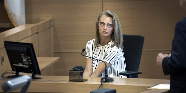 Michelle Carter in court. — HBO