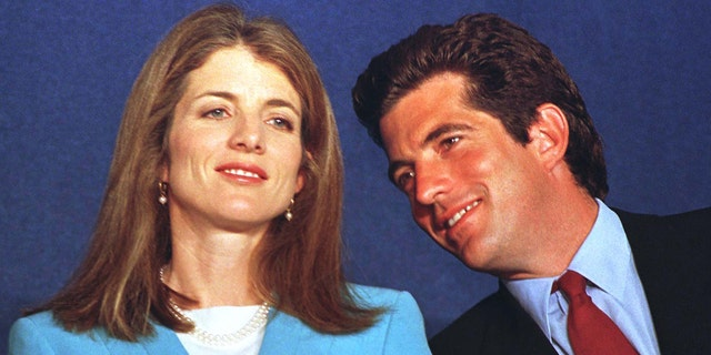 Caroline Kennedy Schlossberg and her brother John F. Kennedy Jr. in this file photo at a May 1997 event at the John F. Kennedy Presidential Library in Boston. — Reuters
