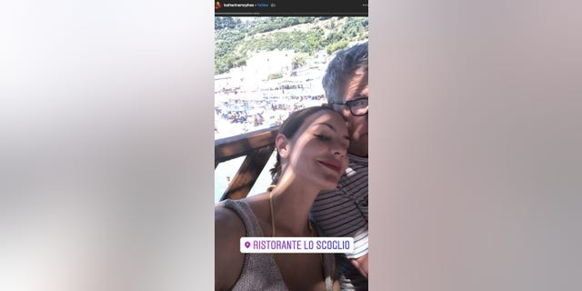 "Katharine McPhee and David Goster are enjoying their honeymoon in Italy. The ""American Idol"" alum married the Grammy-winning music producer in London in late June 2019."
