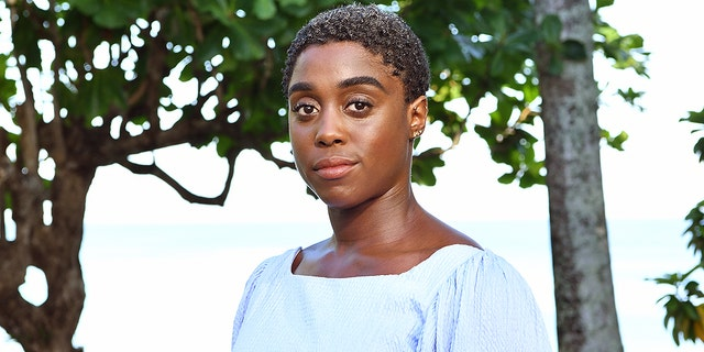 "Cast member Lashana Lynch attends the ""Bond 25"" film launch at Ian Fleming's home ""GoldenEye"" on April 25, 2019 in Montego Bay, Jamaica. Reports say that Lynch will inherit the 007 title in the upcoming film."