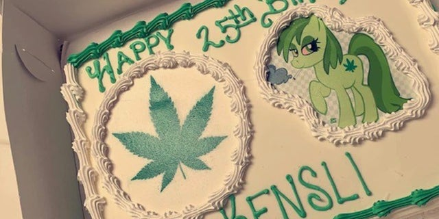 Woman requests a Disney themed birthday cake...gets a marijuana cake instead!