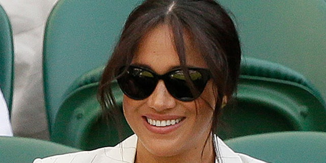 Meghan, Duchess of Sussex, during Wimbledon.