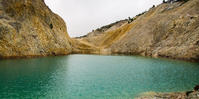 """The Instagram-famous, turquoise lake is in fact a chemically contaminated """"toxic dump."""""""