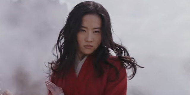 Liu Yifei as Mulan in the trailer for the upcoming Disney movie.