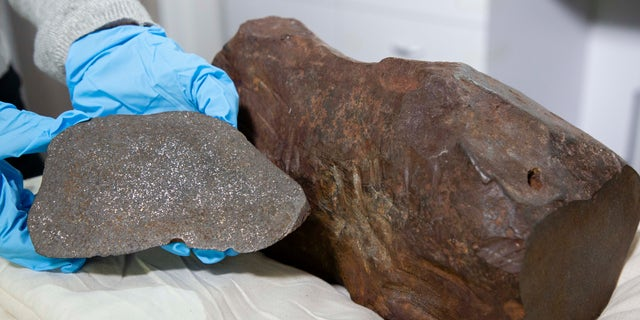 The Maryborough Meteorite will be on display at the Melbourne Museum next month.