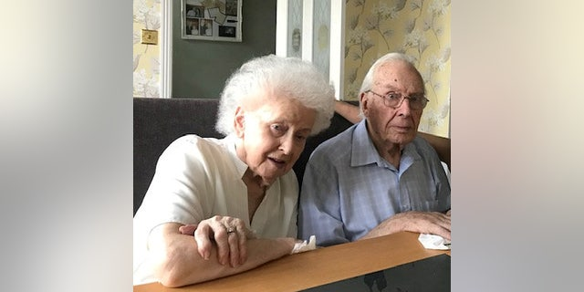 They hadn't spent a day apart since getting married in 1951.