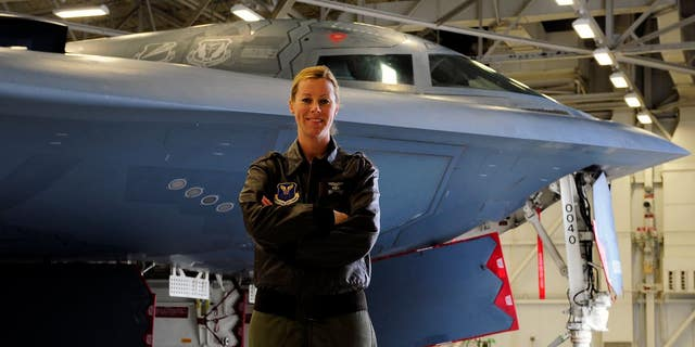 Westlake Legal Group nicola-polidor-us-air-force How one woman learned to fly the B-2 stealth bomber Warrior Maven Kris Osborn fox-news/tech/topics/us-air-force fnc/tech fnc article 699b950f-115e-57a3-9291-79a8a2e34864