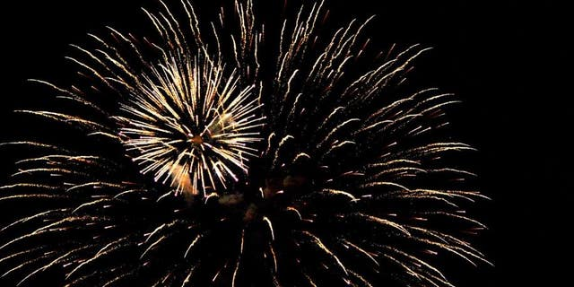 An Ohio was killed Tuesday after he was accidentally struck in the chest by a firework display.