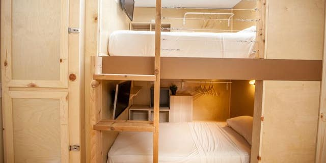 $1,200 per month gets you a bunk bed in Los Angeles and San Francisco. (PodShare)