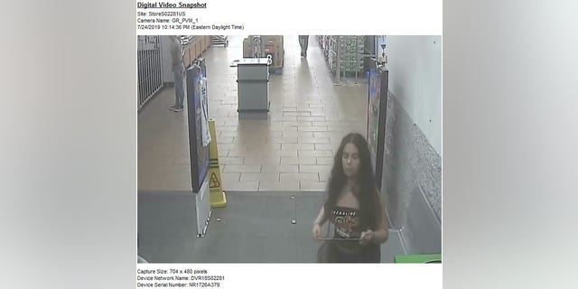 According to WPXI, a Walmart employee claimed to have seen the woman committing the act