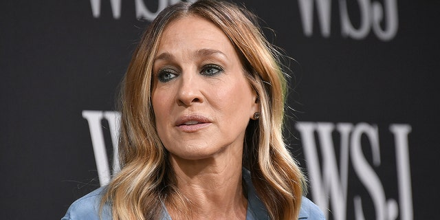 "Sarah Jessica Parker speaks on stage at the WSJ The Future of Everything Festival at Spring Studios on May 10, 2018 in New York City. The ""Sex and the City"" star claims that an unnamed ""big movie star"" behaved ""inappropriately"" on the set of the HBO classic series."