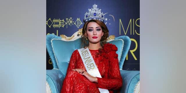 Miss Iraq Universe 2017, SarahIdan