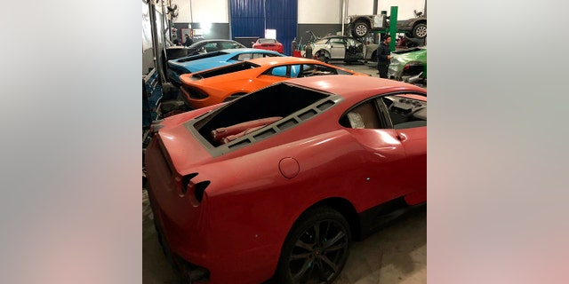 Westlake Legal Group sham-3 Cops shut down fake Ferrari and sham Lamborghini business in Brazil Gary Gastelu fox-news/auto/make/lamborghini fox-news/auto/make/ferrari fox-news/auto/attributes/performance fox-news/auto/attributes/custom fox news fnc/auto fnc article 1b5ab045-3e3e-5194-960d-d87bd375232a