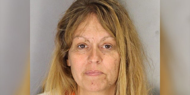 Mugshot for Serri Renee Telnas, 45, of Porterville, Calif.