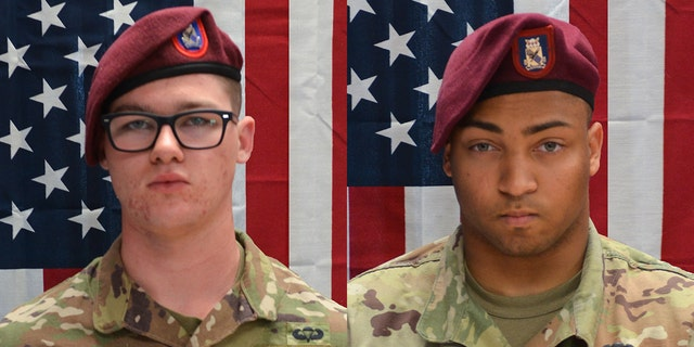 The Defense Department said 20-year-old Pfc. Brandon Jay Kreischer of Stryker, Ohio, and 24-year-old Spc. Michael Isaiah Nance of Chicago were killed in Afghanistan on Monday.
