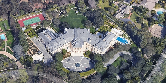 The palatial 56,500-square-foot estate listed for $160 million before being sold for $119.75 million.