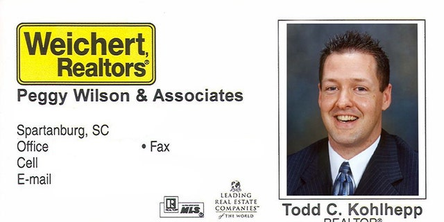 Todd Kohlhepp's business card.