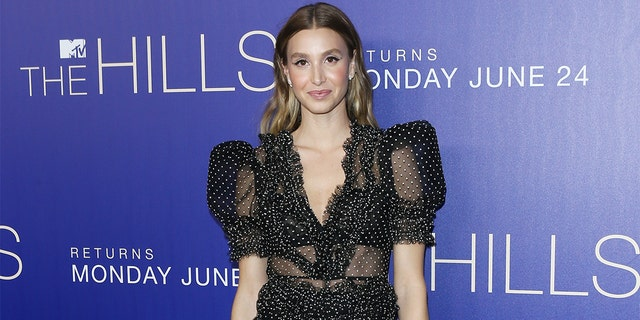 "Whitney Port attends the Los Angeles premiere of MTV's ""The Hills: New Beginnings"""