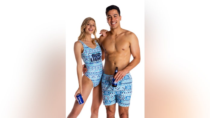 Budweiser, Bud Light release beer-themed swimwear and 'pajameralls'