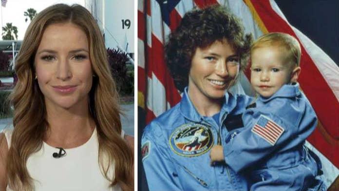 Fox News correspondent Kristin Fisher discusses family's ties to NASA on Apollo 11 anniversary