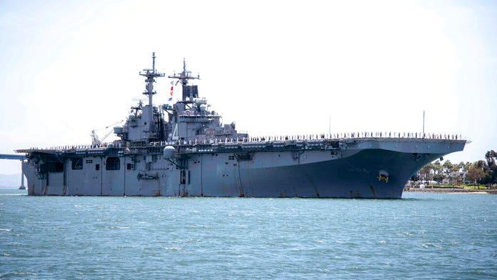 Iran denies claim that US warship destroyed Iranian drone