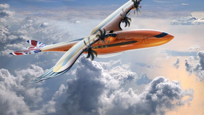 Bizarre 'bird of prey' airliner concept design revealed