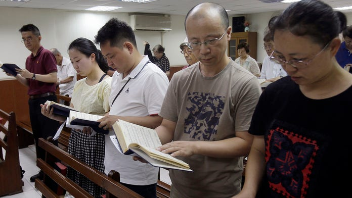 China censors 'Bible, 'God' from children's books: report