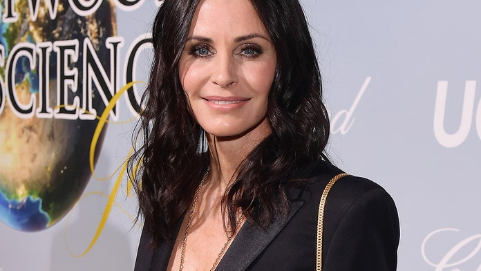 Courteney Cox posts 'epic' pool video: 'This is the best video of all time'
