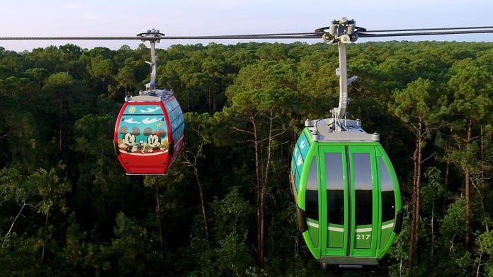 Disney World announces opening date for Skyliner gondola system