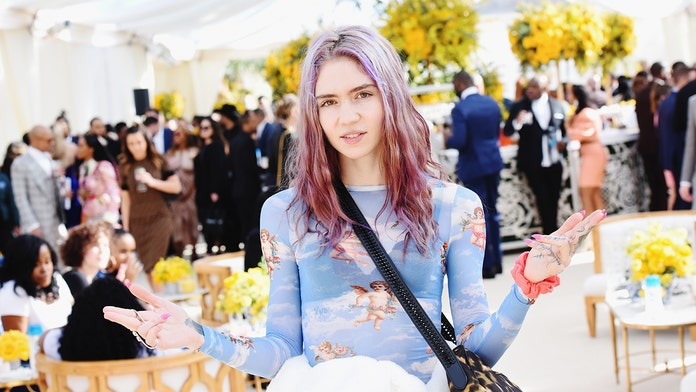 Grimes reveals she underwent 'experimental surgery' to eliminate blue light from her vision