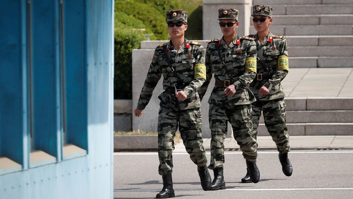 North Korean soldiers reportedly caught stealing food in China