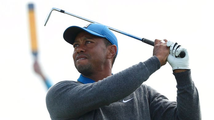 Tiger Woods hints health, 'Father Time', is an issue after first round struggles at The Open: 'Just the way...