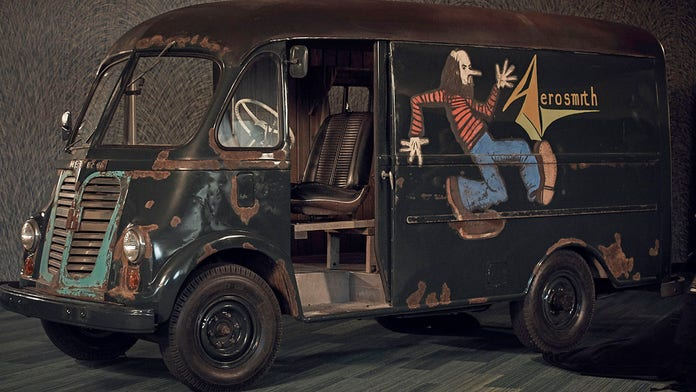 The 'American Pickers' found and fixed Aerosmith's 1970s tour van