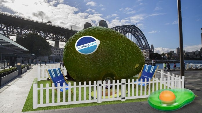 Booking.com creates Avo-Condo with 'world-class view' for National Avocado Day