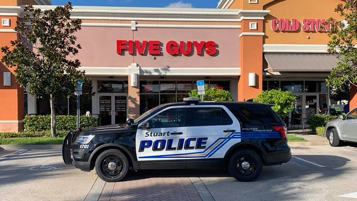 Five guys arrested at Five Guys burger joint in Florida: police