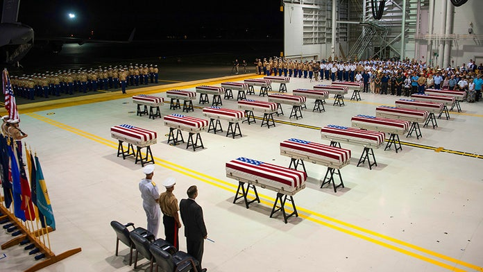 Remains of more than 20 American service members killed in bloody WWII battle return home