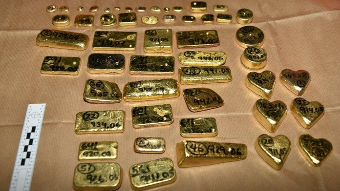 Officials seize $5 million in gold bars at Heathrow Airport, reportedly from drug cartel