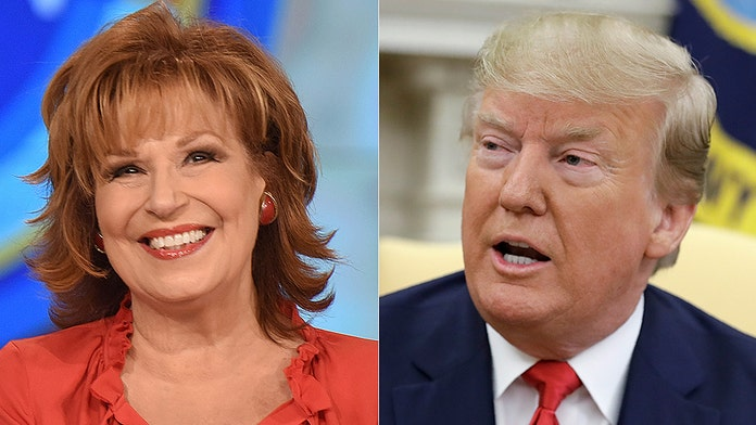 Joy Behar asks why Trump can't be charged with 'hate speech' after rally