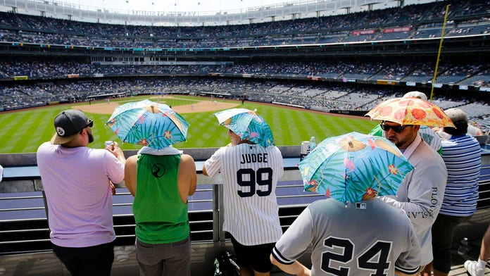 Big league ballparks broil as heat wave grips much of majors