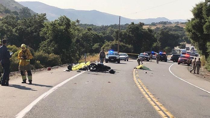 Southern California motorcycle crash kills 4, officials say