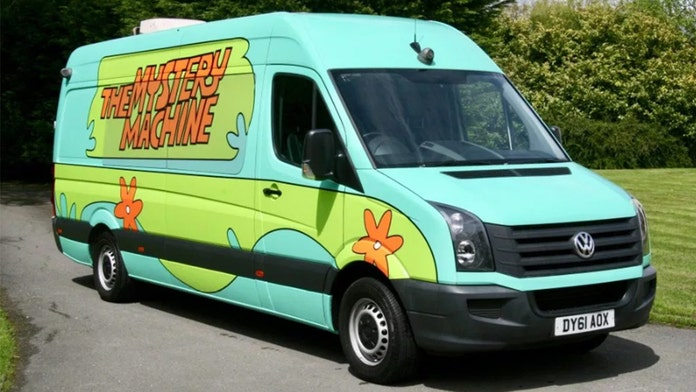 One Direction's 'Mystery Machine' is full of secrets and on the block