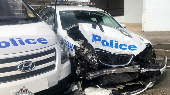 Australian driver crashes into patrol car, police find $1.4M of meth in 'one of the easiest drug busts' ever