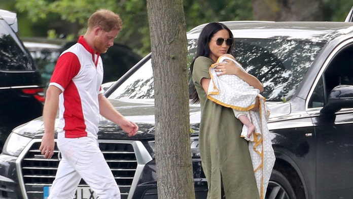 Meghan Markle and baby Archie support Prince Harry at charity polo match