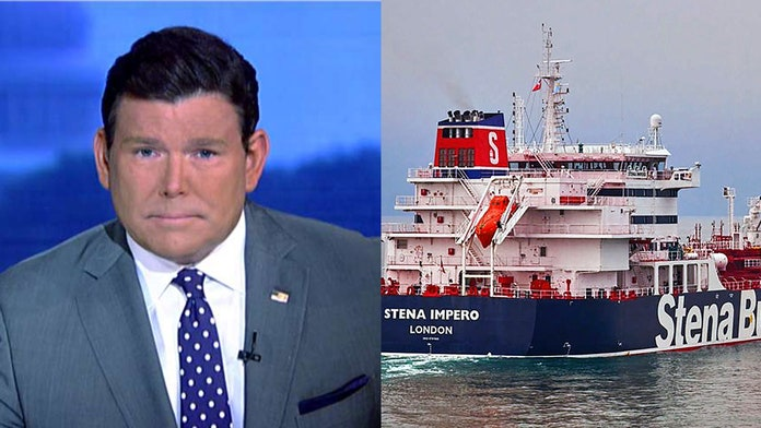 Bret Baier: Iran seizure of UK tanker an escalation from 'rhetorical' back and forth with Tehran