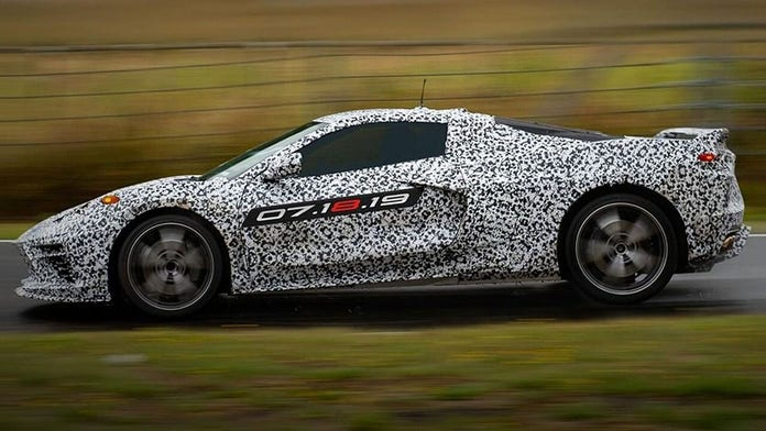 Chevrolet confirms Stingray name for all-new mid-engine Corvette