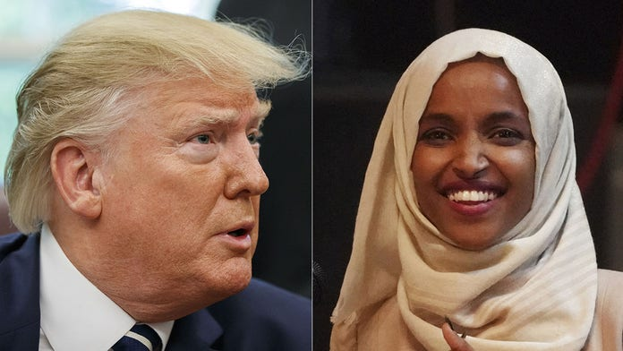 Trump says Squad member Ilhan Omar 'lucky to be where she is'