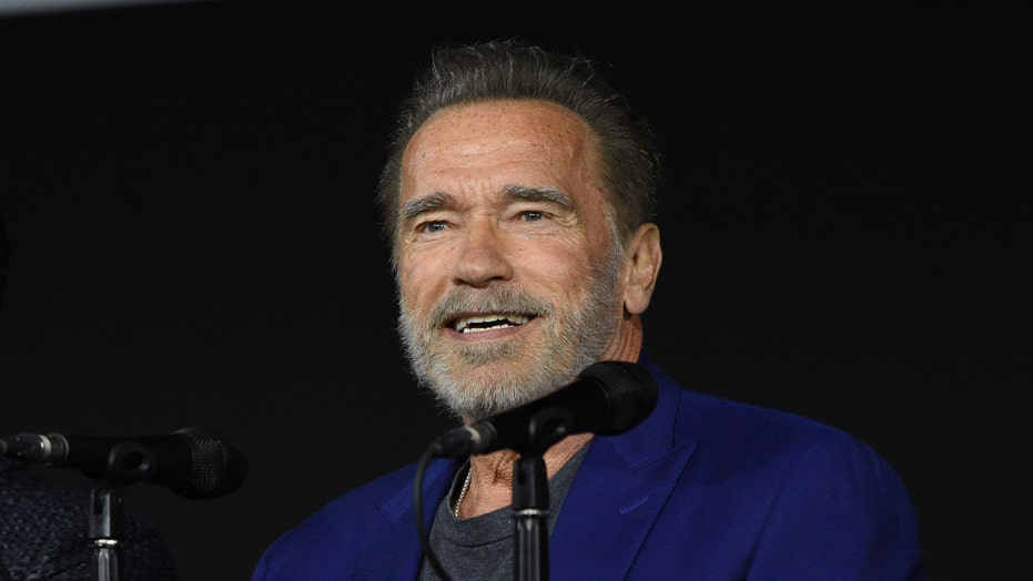 'Terminator' stars Arnold Schwarzenegger and Linda Hamilton reunite
